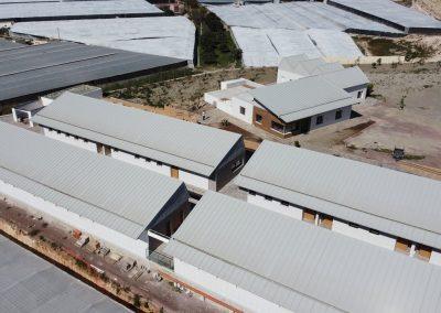 Vista aérea construcción nueva sede