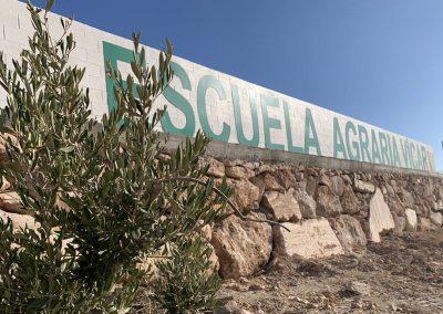 Cartel Escuela Agraria Vícar