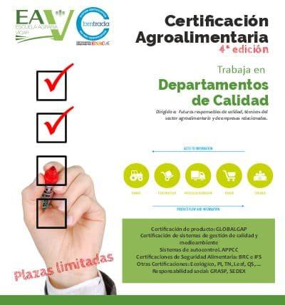 Curso Certificación Agroalimentaria