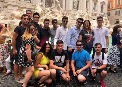 Alumnos en el programa Erasmus+