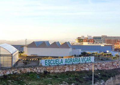 Panorámica Escuela Agraria Vícar